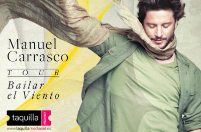 Manuel Carrasco arrasa en su #TourBailarElViento