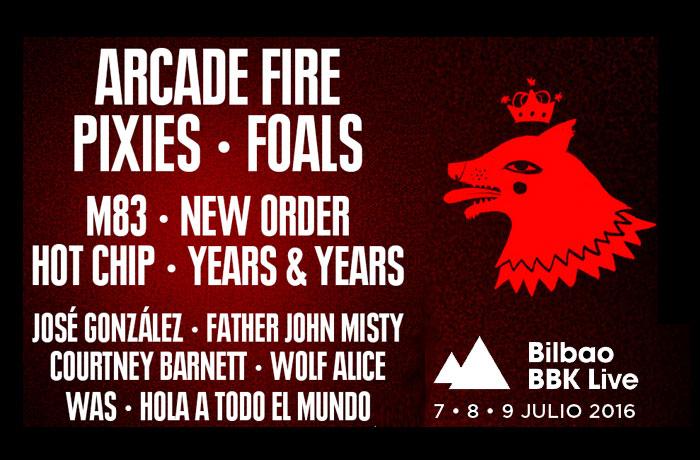 Ya puedes comprar tus entradas para el BILBAO BBK FESTIVAL'16 en www.taquillamediaset.es