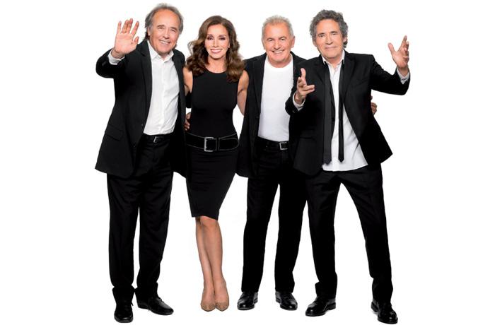 Ya puedes comprar tus entradas para el concierto de Ana Belén, Víctor Manuel, Miguel Ríos y Joan Manuel Serrat en www.taquillamediaset.es