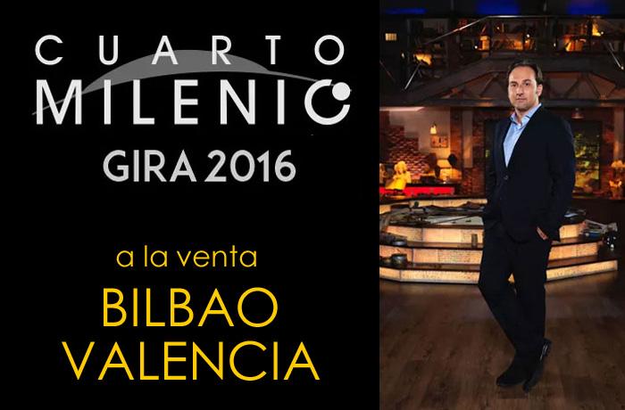 Ya puedes comprar las entradas para la gira de cuarto milenio e iker jimenez cómodamente desde casa para Bilbao y Valencia