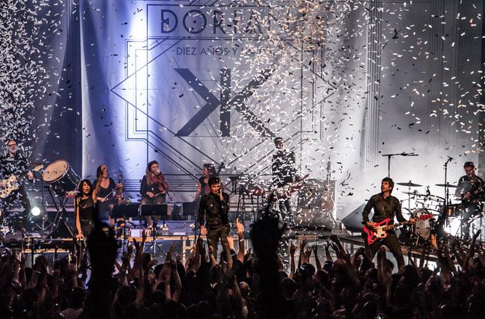 Ya puedes comprar tus entradas para los conciertos de Dorian de su gira 'Diez años y un día' en www.taquillamediaset.es