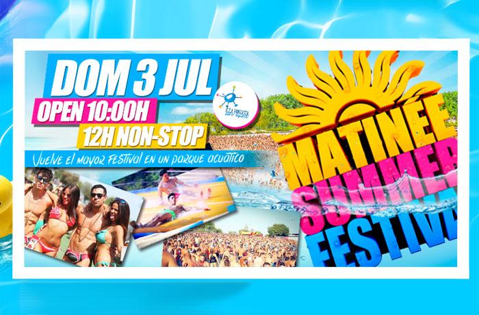 Ya puedes comprar tus entradas para el Matinée Summer Festival en Taquilla Mediaset