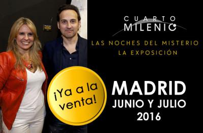 ya puedes comprar tus entradas para la exposición de cuarto milenio y para las noches del misterio para Madrid