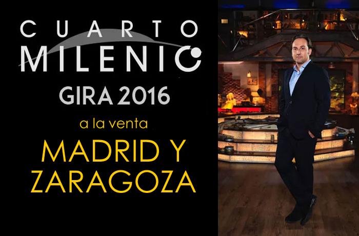 Ya puedes comprar tus entradas para las noches del misterio y la exposición de cuarto milenio en zaragoza en www.taquillamediaset.es
