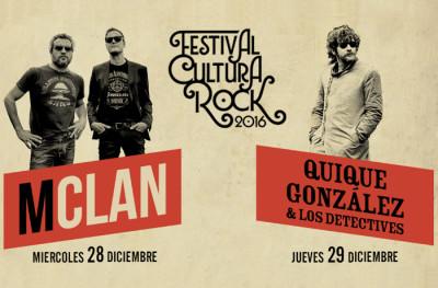 Ya puedes comprar tus entradas para el concierto de mclan y quique gonzalez con los detectives en el festival cultura rock
