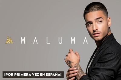 Maluma actuará por vez primera en España el próximo mes de Octubre