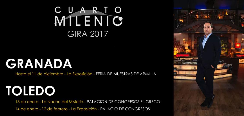 Ya puedes comprar tus entradas para la gira de Cuarto Milenio: A la venta Granada y Toledo