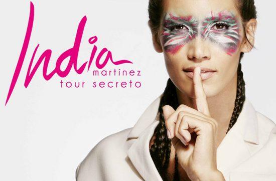 Ya puedes comprar tus entradas para la Tour Secreto de India Martínez