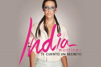 India Martínez sale de gira para presentar su último disco Te cuento un secreto