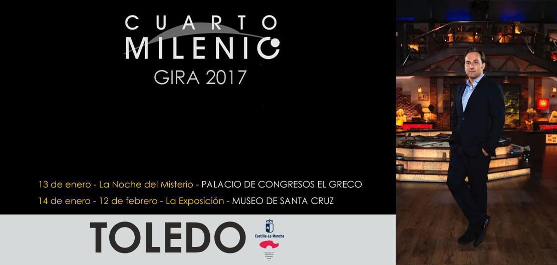 Ya puedes comprar tus entradas para la Exposición y la Noche del Misterio de Cuarto Milenio en Toledo