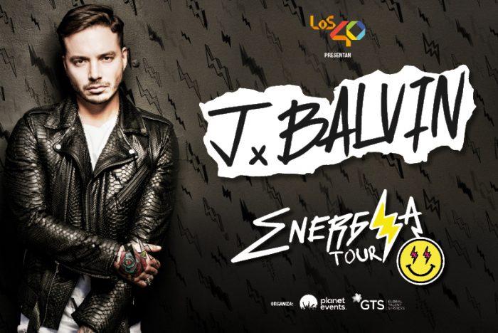 J BALVIN entradas energy tour