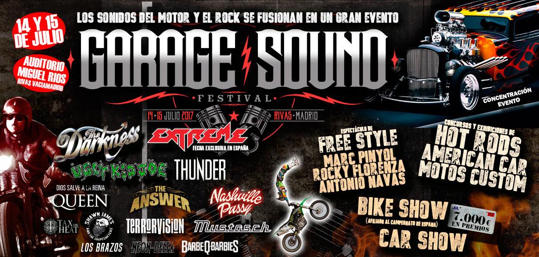 garage sound festival madrid 2017 comprar entradas