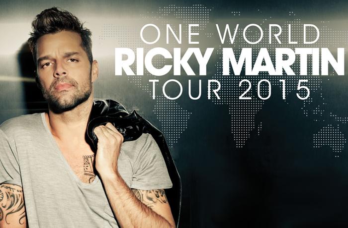 Comprar entradas conciertos Ricky Martin España One World Tour