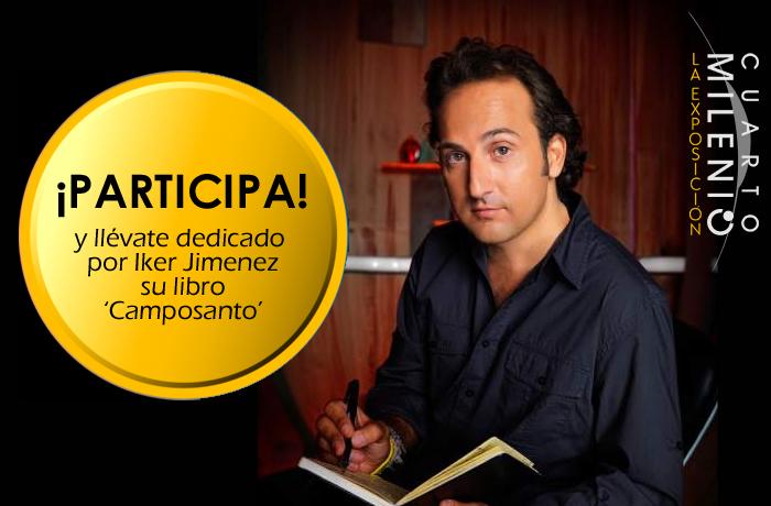 Quieres que Iker Jiménez te dedique su libro \'Camposanto ...