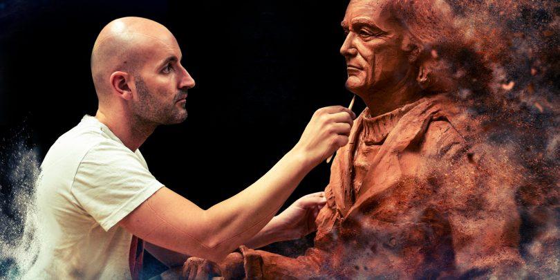 Por primera vez, Juan Villa modelará una escultura en directo en la ...