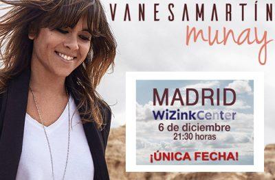 VANESA MARTÍN CONCIERTO ÚNICO MADRID