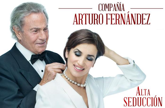 Arturo Fernández presenta en Madrid Alta Seducción
