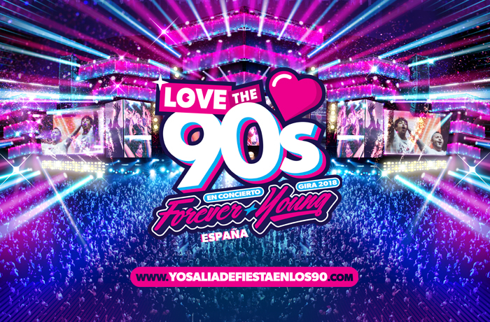 LOVE THE 90'S FOREVER YOUNG COMPRAR ENTRADAS