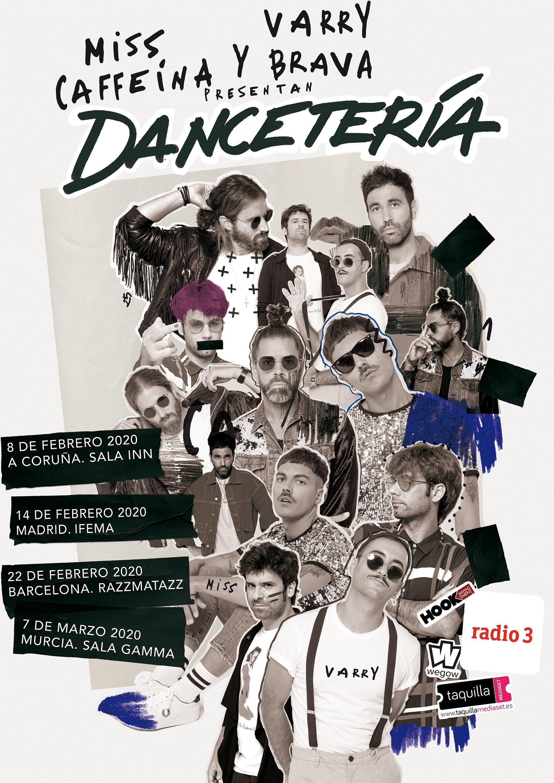 Miss Caffeína y Varry Brava presentan 'Dancetería' - Taquilla Mediaset
